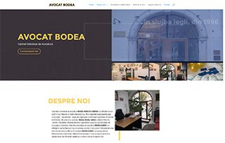 Exemplu website Manifest Media - Cabinet Avocat Bodea