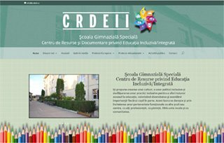 Exemplu website Manifest Media - CRDEII
