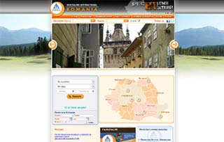 Exemplu website Manifest Media - Hi Hostels Romania