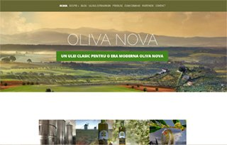 Exemplu website Manifest Media - Oliva Nova