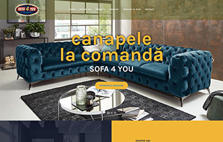 Exemplu website Manifest Media - Canapele-Sofa4You